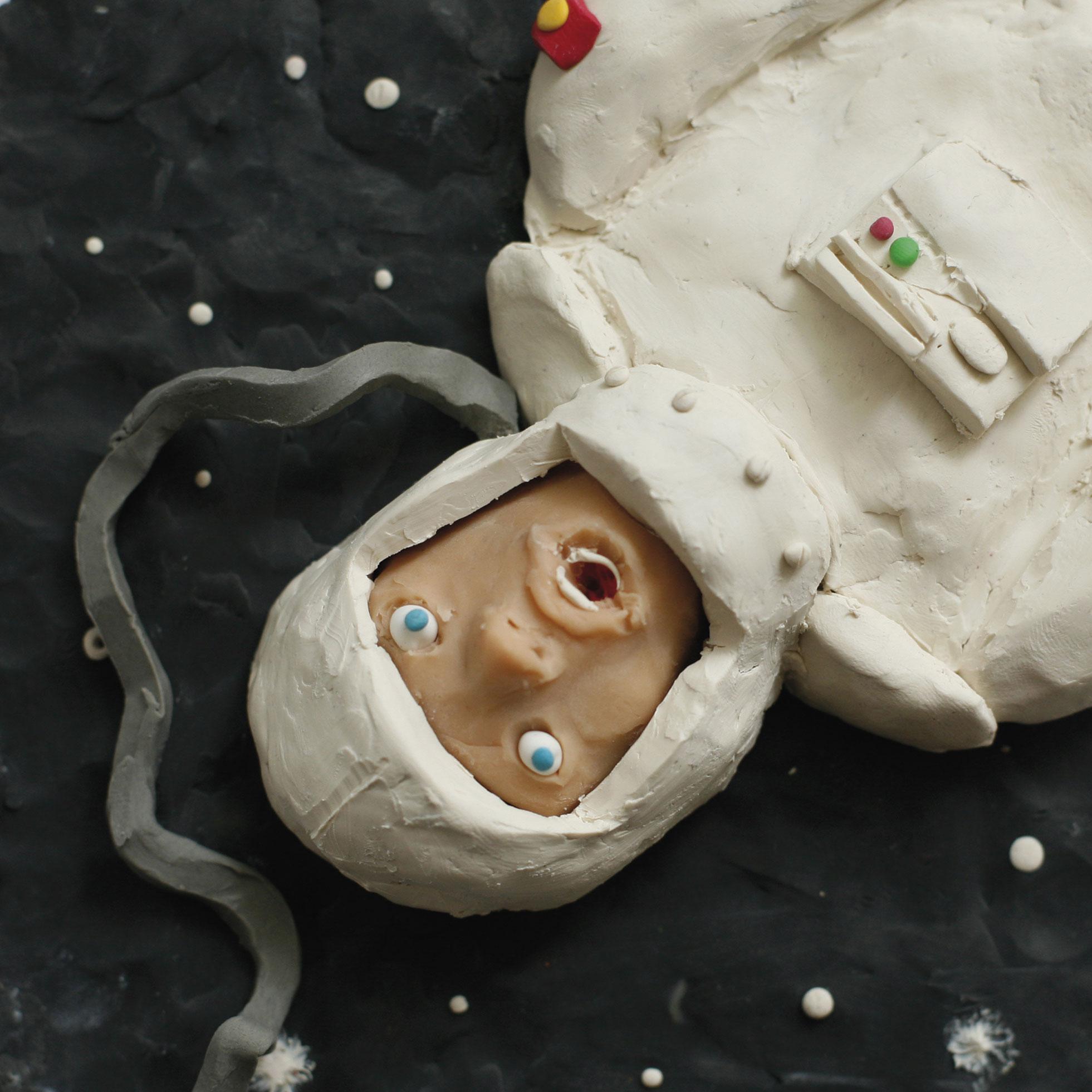 Knetfigur Astronaut